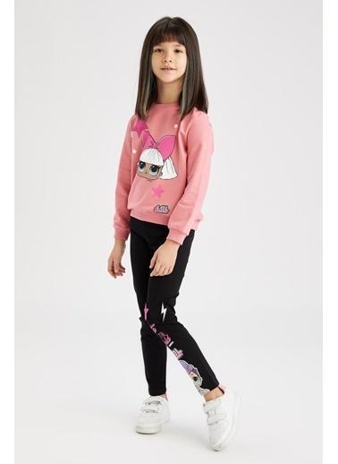 DeFacto Kız Çocuk L.O.L Lisanslı Sweatshirt Pembe